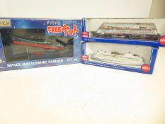 3 x Model Ships