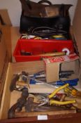 A large quantity of good quality tools to include