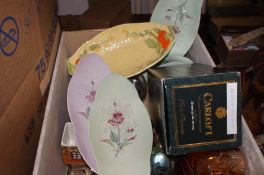 A mixed box to include Carltonware