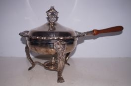 A early 20th century warming pan