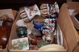 A very good quality mixed box to include Wedgewood