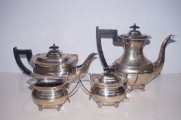 A Silver plated service