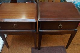 A Pair of G Plan Bedside tables