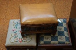 3 Early Foot Stools
