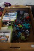 A Box of Skylanders