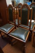 4 x Oak Dining Chairs