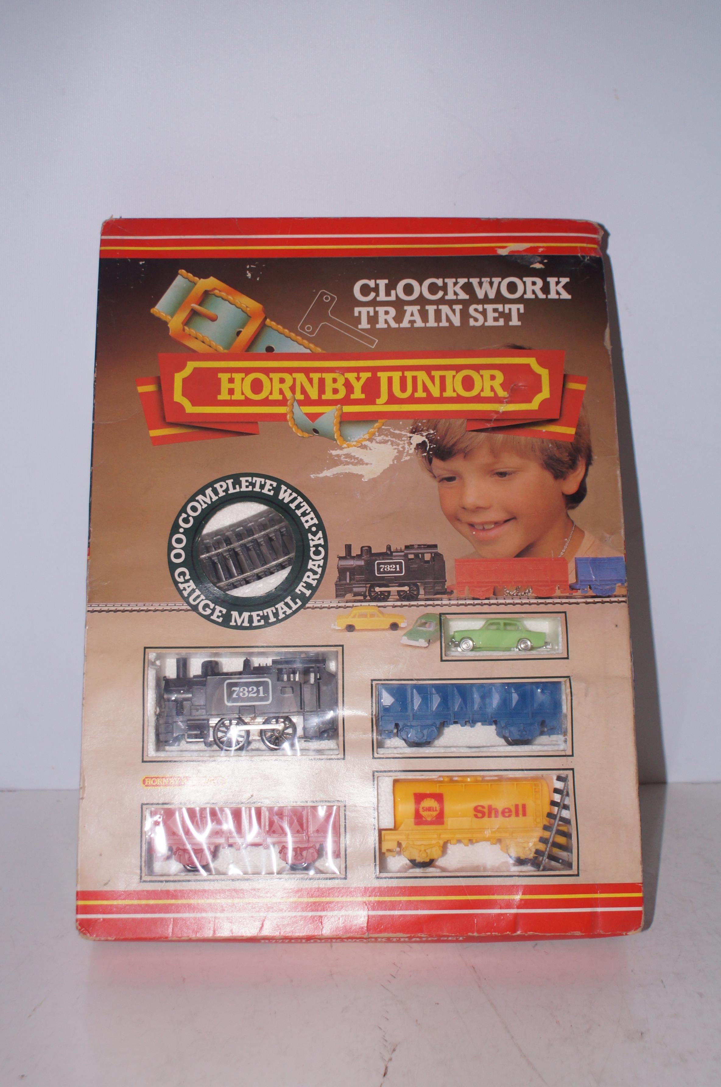 A Hornby junior trainset