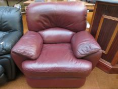 Leather Electric Reclining Chair