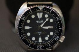 Seiko automatic 150m wristwatch 6309-7040. Current