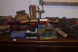 Early clockwork Hornby trainset