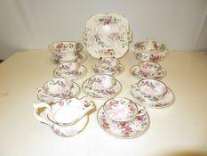 Victorian Fellspar Porcelain Tea service (Spode) G