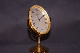 Imhof 8 day alarm clock numbered 1581814 on a very