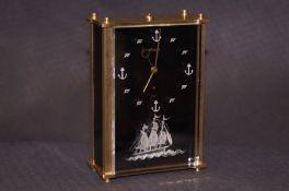 LeCoultre 8 day marina alarm/musical box -thorens