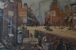 Bernard McMullen Limited edition Print with Double