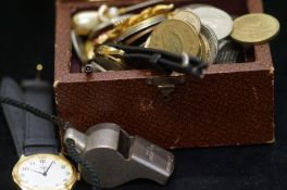 """A coin collection to include watches and """"The Thun"""