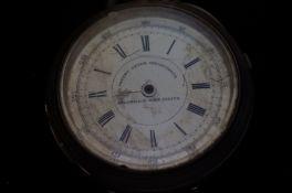 Early Silver chronograph pocket watch Greenwich ti