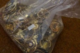 Very large bag of costume jewellery - Approx 5kg