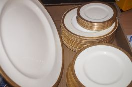 Collection of Royal Doulton plates to include larg