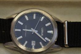 Gents Lorus wristwatch boxed