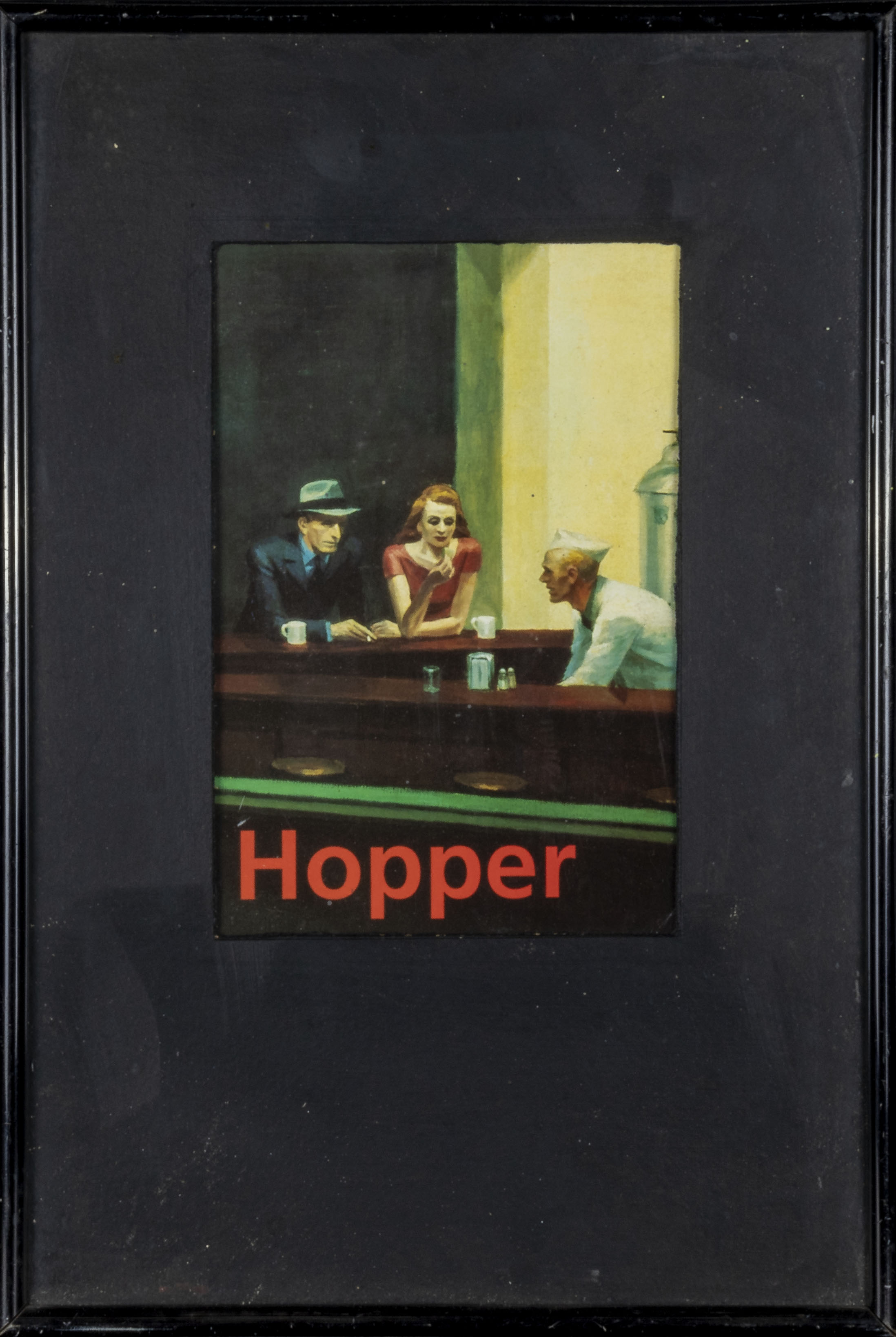 Two framed Edward Hopper prints 32cm x 48cm and 44cm x 35cm - Image 3 of 3