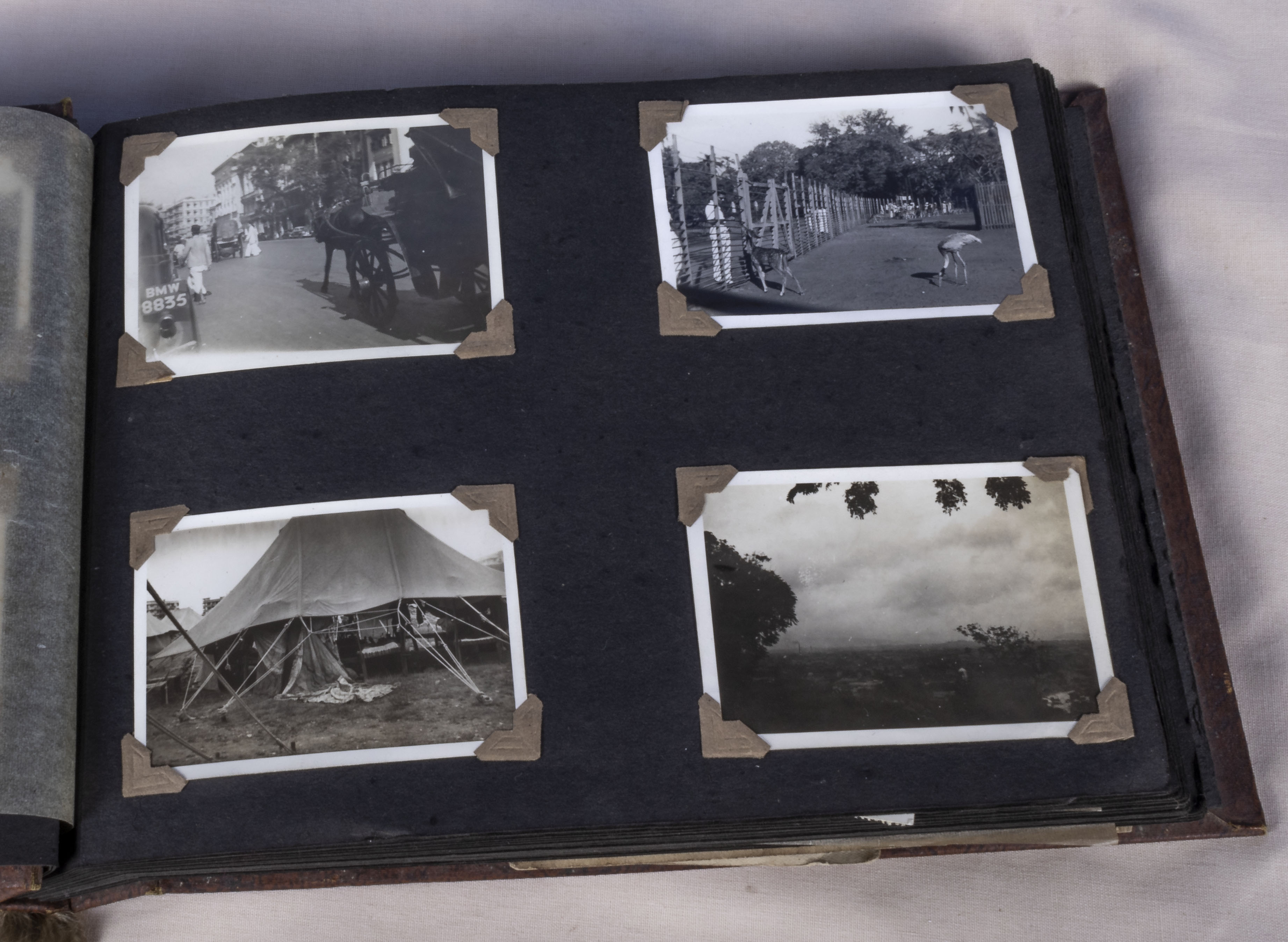 Military interest over 130 vintage photographs in album relating to the 1939-45 war years showing - Image 6 of 6
