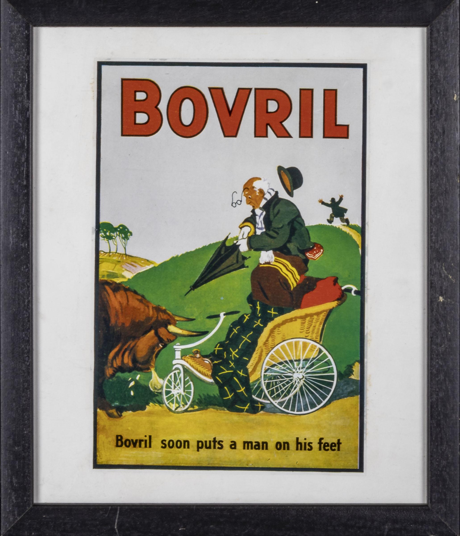 Three framed Bovril advertising prints 28cm x 33cm - Image 2 of 4