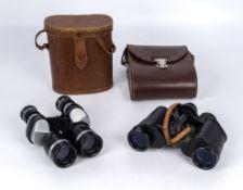 Two pairs of binoculars Germa Noctovist Mk II, 8x30 and Tohyoh Tokyo 7x30
