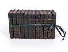 H G Wells - twelve volumes of his novels