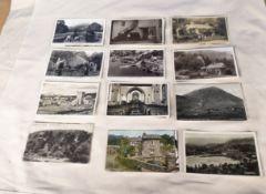 Lake-district interest, 32 vintage photo post cards of Ambleside, Heysham, Rydal-water, Grasmere,