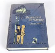Peter Pan & Wendy by J M Barrie, illustrated by Mable Lucie Atwell, publisher Hodder & Staughton