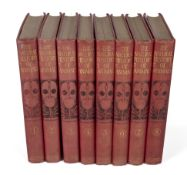 Eight volumes of Natural History of Animals by J R Ainsworth Davis, published 1903 by The Gresham