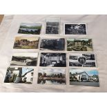 44 vintage photo post cards of the lake district Cartmel, Ambleside, Furness Abbey, Wordsworth