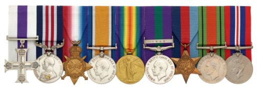 WW1 King's Shropshire Light Infantry / Royal Welsh Fusiliers Military Cross, Military Medal Group of