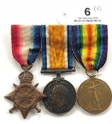 WW1 Royal Navy Battle of Jutland Veterans Group of Three Medals.