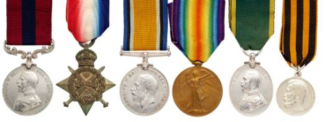WW1 7th Bn Argyll & Sutherland Highlanders Battle of Ypres DCM, Russian Medal of St.George Group of