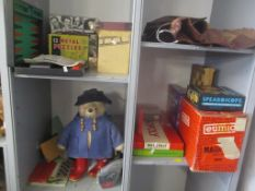 A mixed lot of mainly board games to include Trivial Pursuit, Monopoly and others, together with a