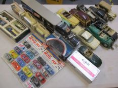 A collection of Franklin Mint classic collectors' vehicles and others A/F to include a Corgi James