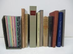 A collection of reference books on wood engravings, to include: A History of the Golden Cockerel