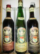 3 Bottles of Fabiano to include Bardolino, Soave, Valpolicella