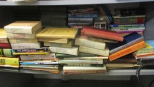 Vintage books to include 1970's and 1980 annuals, medical books, fiction and others