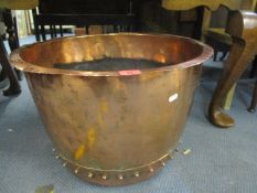 A copper copper 37 h x 54cm d