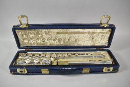 A Mid 20th Century Cased Boosey & Hawkes Emperor Flute