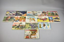 A Collection of Fourteen Tea Card Albums and Contents