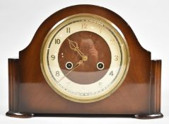 A Mid 20th Century Smiths Enfield Mantel Clock, 29cm wide