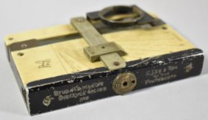 A Stuart's Marine Distance Meter, No.743 and Stamped for G Lee & Son, The Hard, Portsmouth,