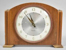 A Mid 20th Century Westclox Mantle Clock, Working Order, 23cm wide