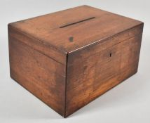 A Late 19th Century Mahogany Ballet Box, 30cm wide