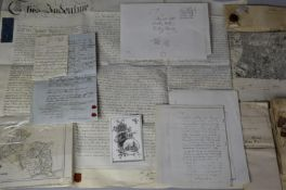 A Collection of Various Legal and Other Documents Dated 1674-1802 Relating to Land and Premises in