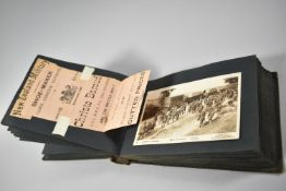 A Very Interesting Photograph Album Containing Original Black and White Photographs, c.1914