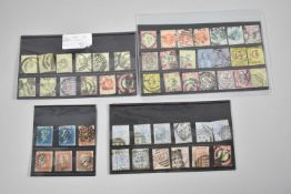 A Collection of 51 Various Victorian Stamps to Include Penny Reds and Twopenny Blues